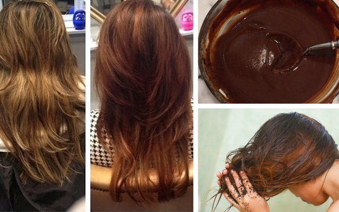 Como Teñir tu cabello Naturalmente en casa con Café.