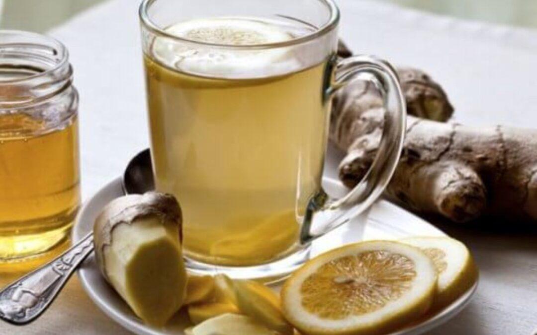 Cómo hacer el té de jengibre para limpiar el hígado y perder peso