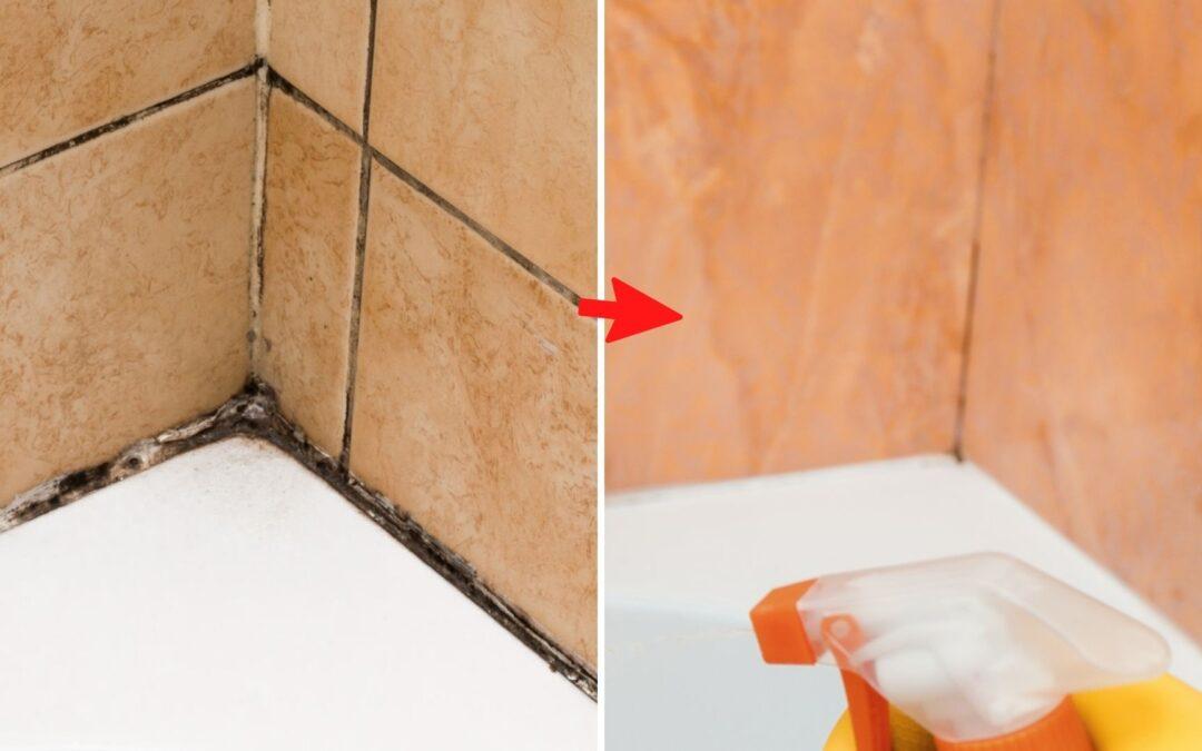 Cómo limpiar el moho de la silicona de la mampara y otras partes de la casa